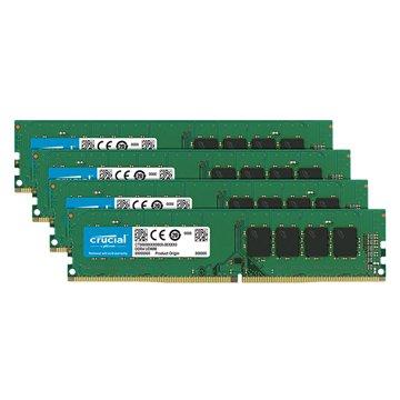 Micorn 美光 DDR4 2666 32G(8G*4)四通道 PC用