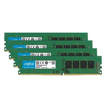 Micorn 美光 DDR4 2666 64G(16G*4)四通道 PC用