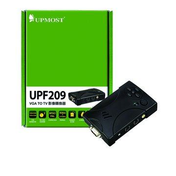 UPMOST 登昌恆 UPF209 VGA TO TV 影像轉換器