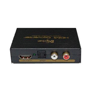 DigiSun 得揚AH211 HDMI轉HDMI+AUDIO(SPDIF+R/L)音訊擷取器