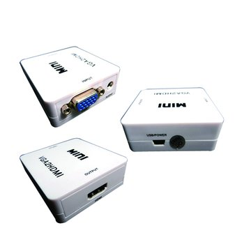 S.C.E 世淇HDMI-103 VGA轉HDMI轉換器