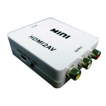 S.C.E 世淇HDMI-101 HDMI轉AV(3RCA)訊號轉接盒