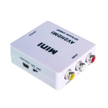 I-WIZ 彰唯HDMI-107 AV轉HDMI轉換器
