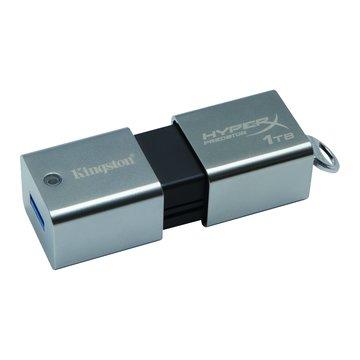 Kingston 金士頓 DataTraveler HyperX Predator 1T USB3.0  隨身碟-銀