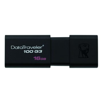 Kingston 金士頓DataTraveler 100 G3 16GB USB3.0   隨身碟-黑