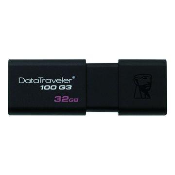 Kingston 金士頓DataTraveler 100 G3 32GB USB3.0   隨身碟-黑