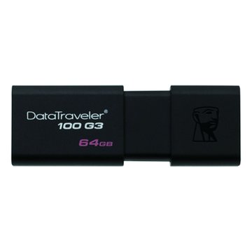 Kingston DataTraveler 100 G3 64GB USB3.0   隨身碟-黑