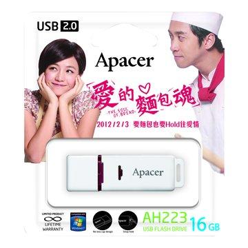 Apacer 宇瞻 AH223 16GB 陳妍希包裝隨身碟-