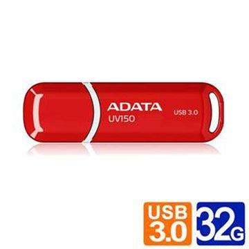 ADATA 威剛UV150 32GB USB3.0   隨身碟-紅