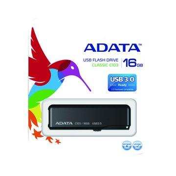 ADATA 威剛 C103 16GB USB3.0  隨身碟-黑