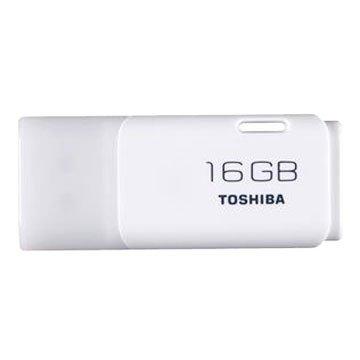 TOSHIBA 東芝 Hayabusa 悠遊 16GB USB2.0 隨身碟-白
