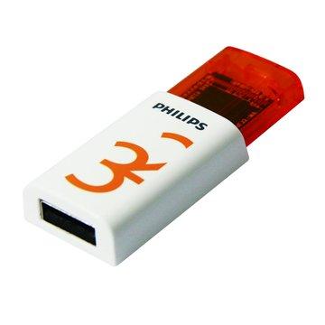 PHILIPS 飛利浦 EJECT 32GB 隨身碟-白