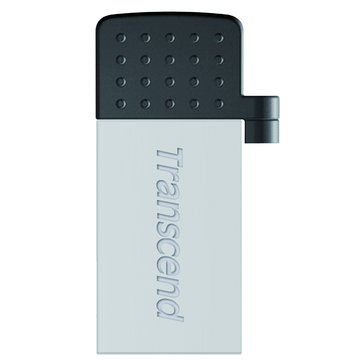 Transcend 創見JetFlash 380 32GB micro USB OTG  隨身碟-銀