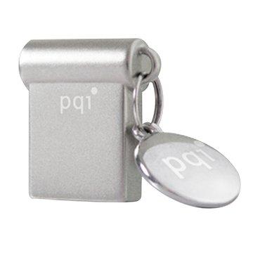 PQI 勁永 i-mini 16GB USB3.0  隨身碟-銀