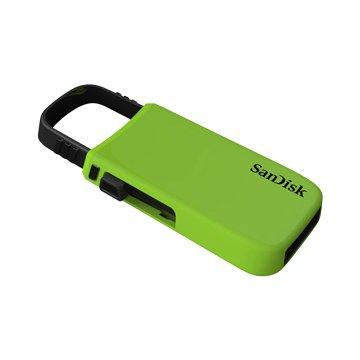 SANDISK Cruzer U CZ59 16GB 隨身碟-綠