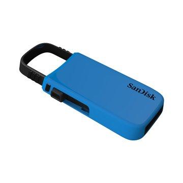SANDISK Cruzer U CZ59 64GB 隨身碟-藍