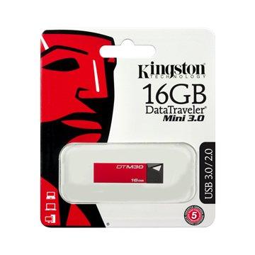 Kingston 金士頓DataTraveler M30 16GB  隨身碟-紅