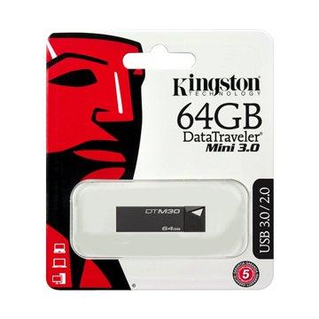 Kingston 金士頓DataTraveler M30 64GB  隨身碟-黑