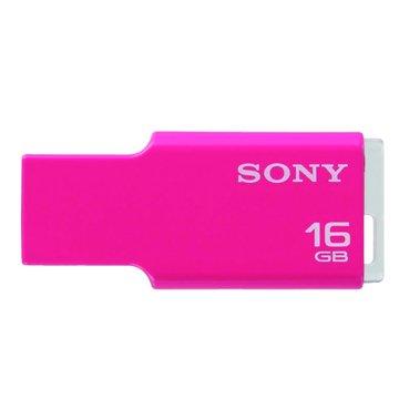 SONY 新力牌 MicroVault Tiny 8GB 隨身碟-粉