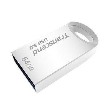 Transcend 創見JetFlash 710S 64GB USB3.0   隨身碟-銀