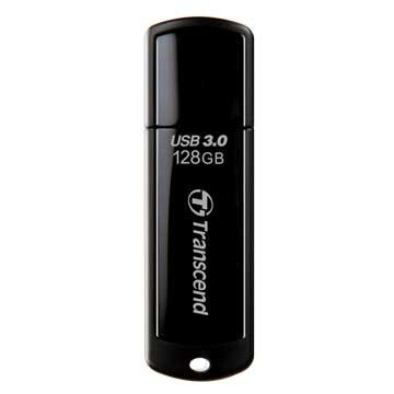 Transcend JetFlash 700 128GB USB3.0   隨身碟-黑