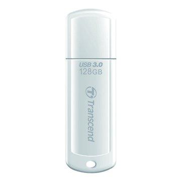 Transcend JetFlash 730 128GB USB3.0   隨身碟-白