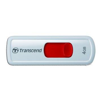 Transcend 創見 JetFlash 530 4GB 隨身碟-紅