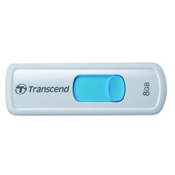 Transcend 創見 JetFlash 530 8GB 隨身碟-水藍