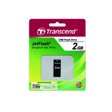 Transcend 創見 JetFlash T3K 2GB 隨身碟-黑