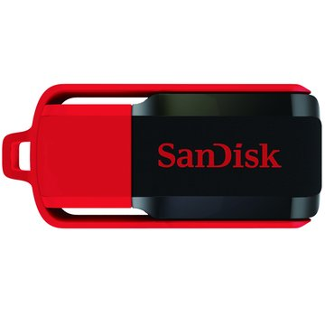 SANDISK Cruzer Switch CZ52 8GB 隨身碟-黑