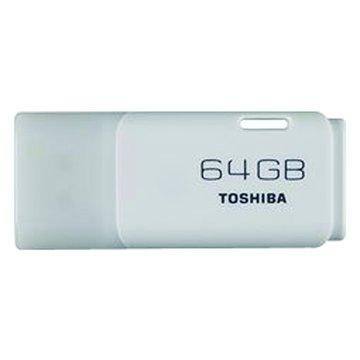 TOSHIBA 東芝 Hayabusa 悠遊 64GB 隨身碟-白