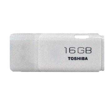 TOSHIBA 東芝 Hayabusa 悠遊 16GB 隨身碟-白