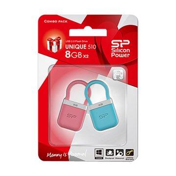SILICON POWER Unique 510 8GB 隨身碟-