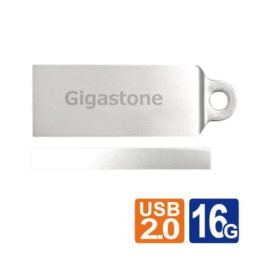 Gigastone 立達 U202 16GB 隨身碟-銀