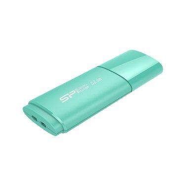 SILICON POWER Ultima U06 32GB 隨身碟-湖水藍