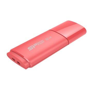 SILICON POWER Ultima U06 32GB 隨身碟-蜜桃粉