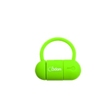 Adam 亞果 Ponte 311 16GB USB3.0 micro USB OTG 隨身碟-綠