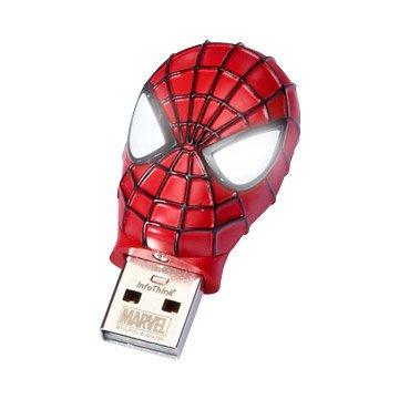 InfoThink蜘蛛人2 8GB 造型隨身碟-紅