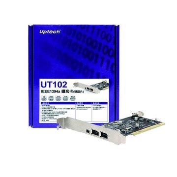 Uptech UT102 IEEE1394a擴充卡(雙晶片)
