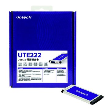 Uptech UTE222 USB 3.0隱形擴充卡