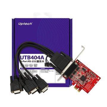 Uptech UTB404A 4-Port RS-232擴充卡