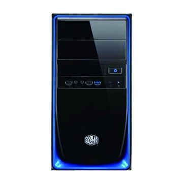 COOLER MASTER 訊凱科技Elite 344-BKN2/藍黑 M-ATX 電腦機殼