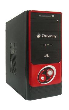 UL-10102大1小/黑紅電腦機殼(福利品出清)
