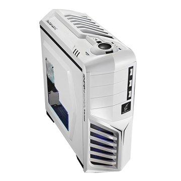 T.C.STAR 連鈺TCC923S/4大4小 電腦機殼(白)(福利品出清)
