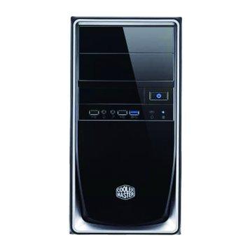 COOLER MASTER 訊凱科技Elite 344-SKN2/銀黑 M-ATX 電腦機殼