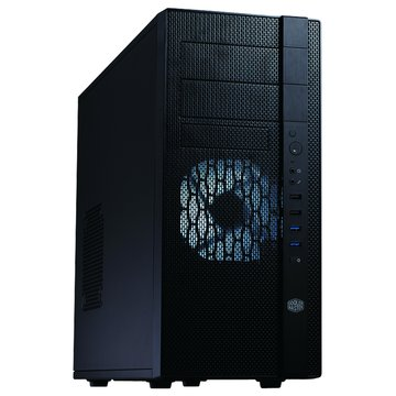 COOLER MASTER 訊凱科技N400/2大3小/U3/黑化 電腦機殼