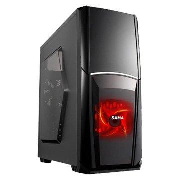 SAMA 先馬 狩獵者 / 2大 / 黑色 電腦機殼(福利品出清)