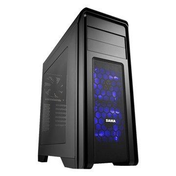 SAMA 先馬終極者 / 2大 / 黑色 電腦機殼