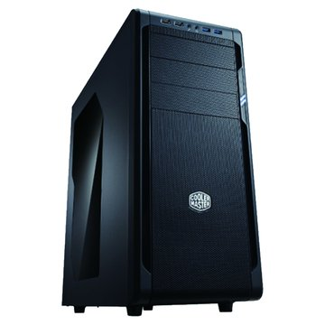 COOLER MASTER 訊凱科技N500 3大4小/豪華版/黑化透側 機殼NSE-500-KWN3(福利品出清)