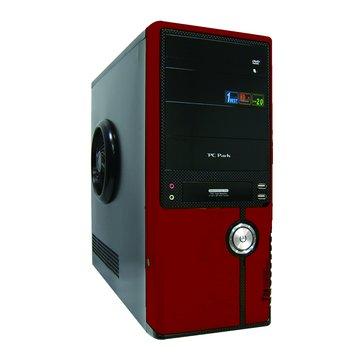 PC Park T-8028 4大/黑紅 電腦機殼(福利品出清)